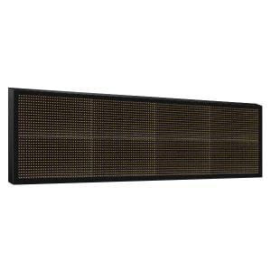 Электронное табло 2x4 (32x128) желтое