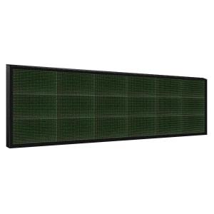 Электронное табло 3x6 (48x192) зеленое