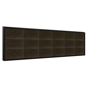 Электронное табло 3x6 (48x192) желтое