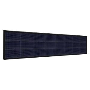 Электронное табло 3x8 (48x256) синее