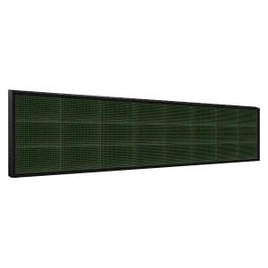 Электронное табло 3x8 (48x256) зеленое