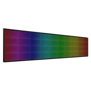 Электронное табло 4x10 (64x320) полноцветное