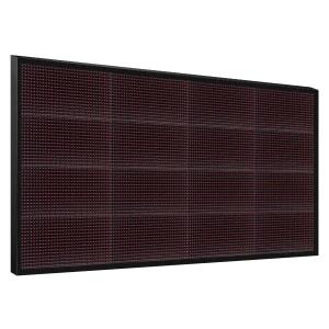 Электронное табло 4x4 (64x128) красное