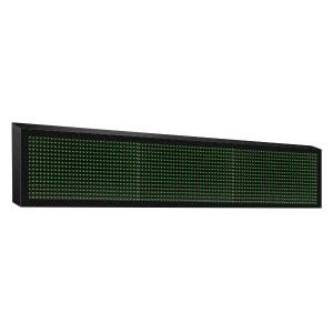 Автомобильная строка 1x3 (16x96) зеленая