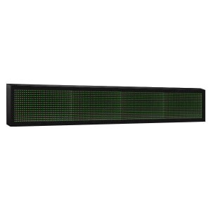 Электронное табло 1x4 (16x128) зеленое