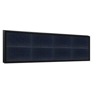Электронное табло 2x4 (32x128) синее