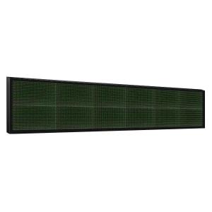 Электронное табло 2x6 (32x192) зеленое