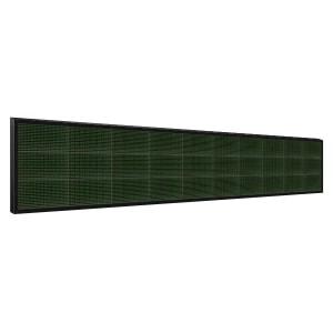 Электронное табло 3x10 (48x320) зеленое