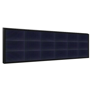 Электронное табло 3x6 (48x192) синее