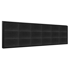 Электронное табло 3x6 (48x192) белое