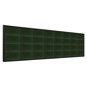 Электронное табло 4x8 (64x256) зеленое