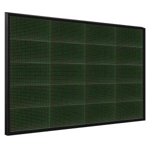 Электронное табло 5x4 (80x128) зеленое