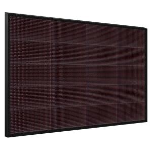Электронное табло 5x4 (80x128) красное