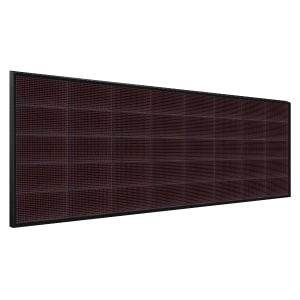 Электронное табло 5x8 (80x256) красное
