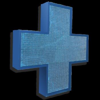 Аптечный крест 96 см х 96 см синий