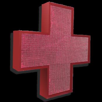 Аптечный крест 96 см х 96 см красный